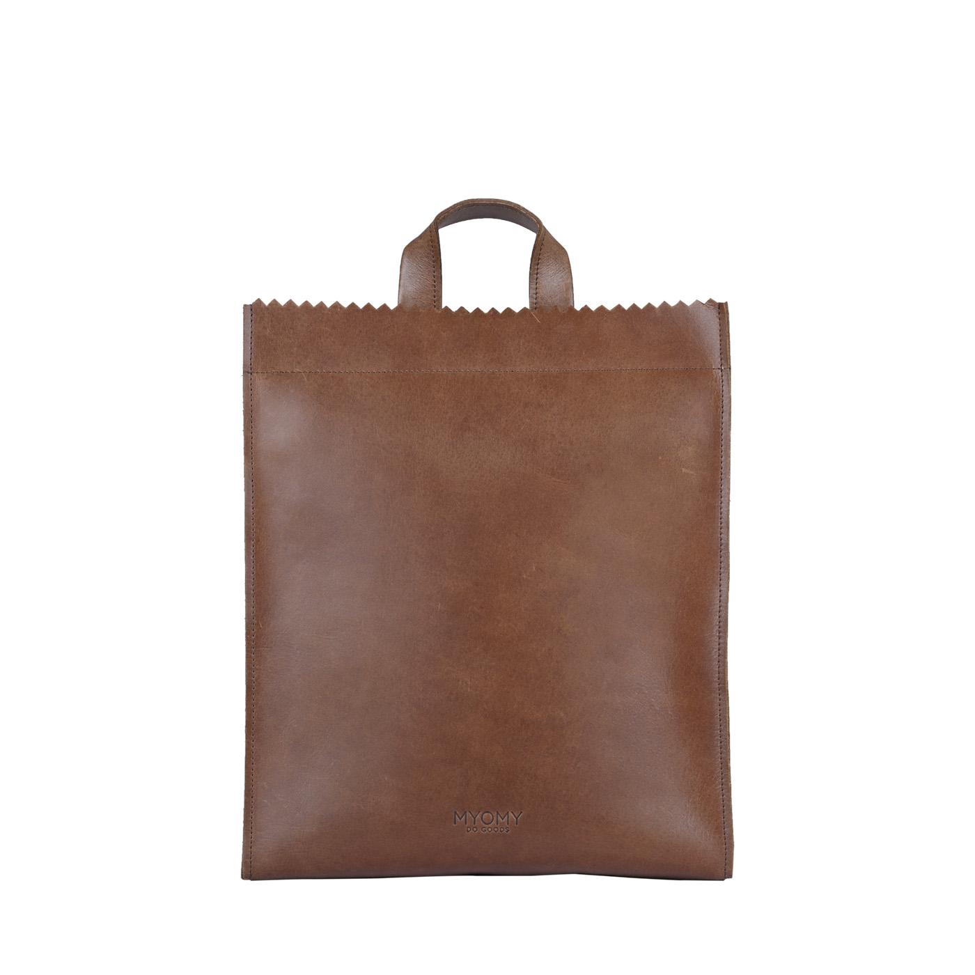 MY PAPER BAG Back bag – hunter waxy original