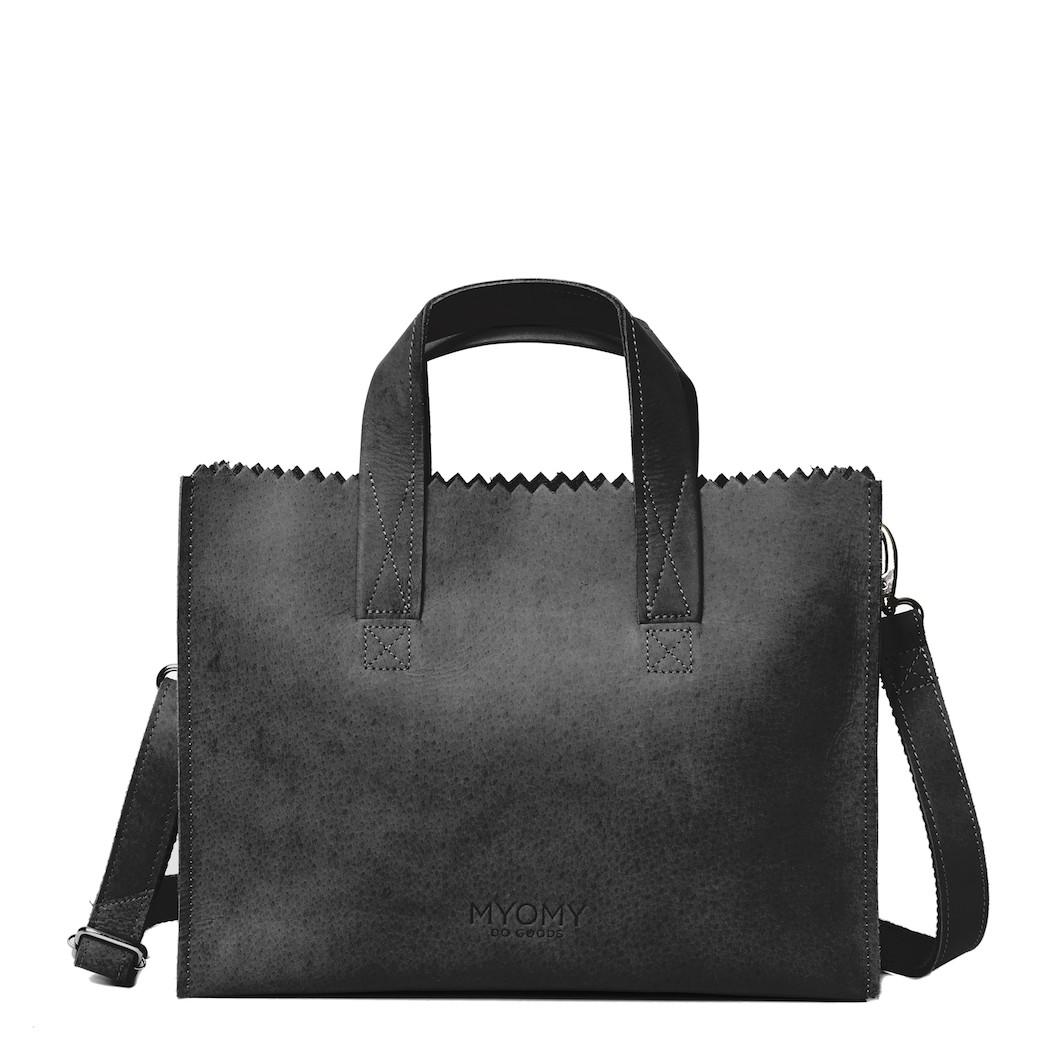 MY PAPER BAG Handbag cross-body - hunter off-black