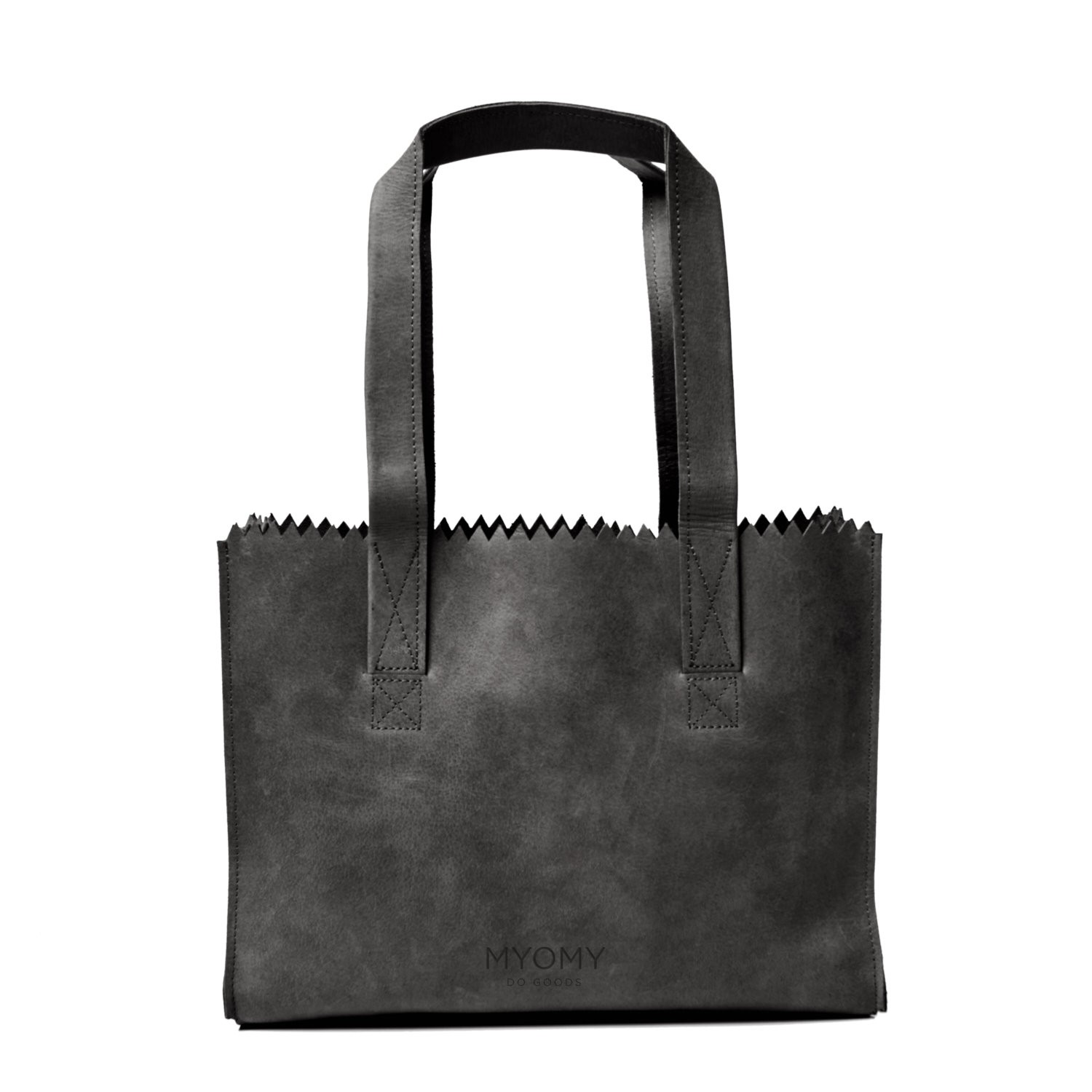 MY PAPER BAG Handbag - hunter off-black