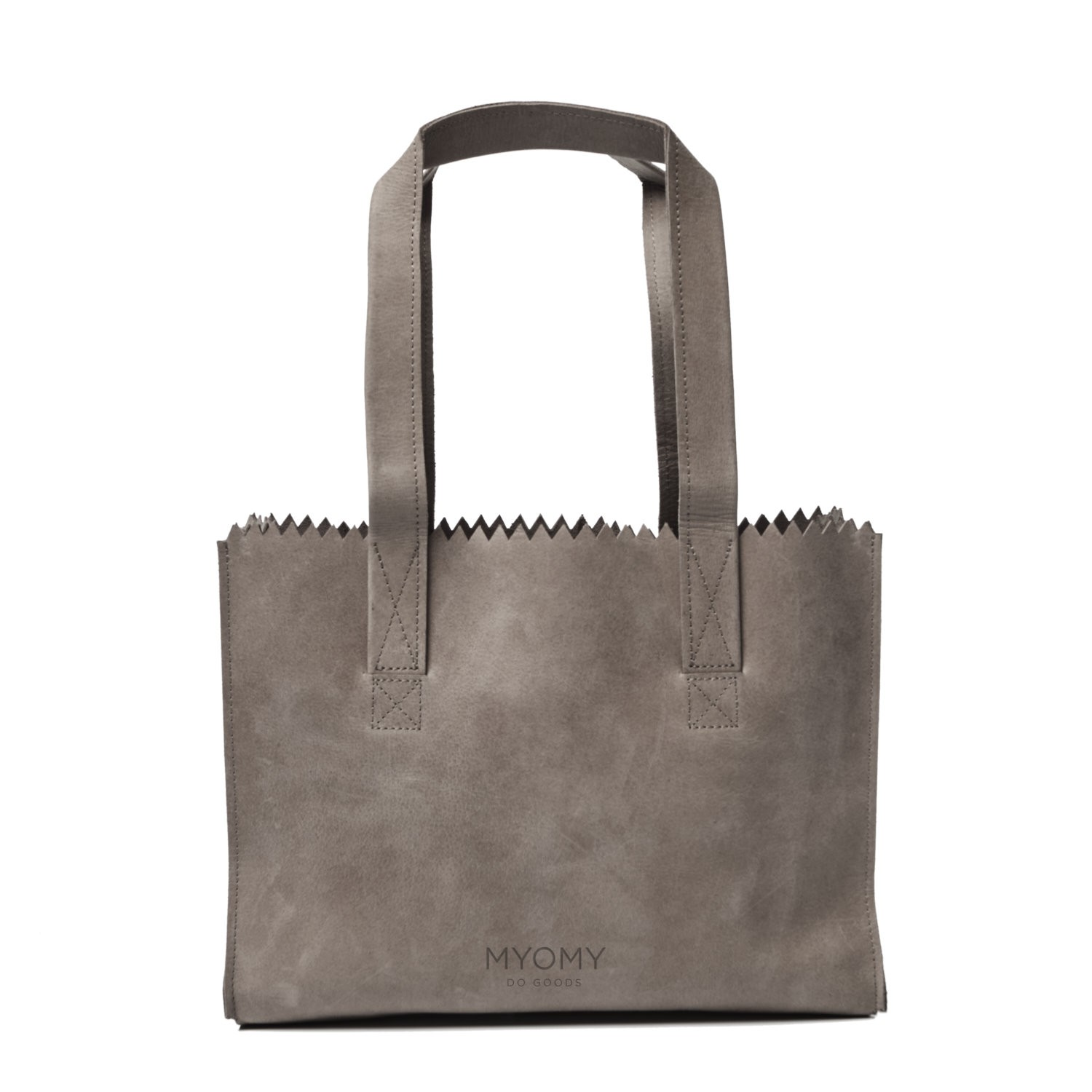 MY PAPER BAG Handbag - hunter taupe