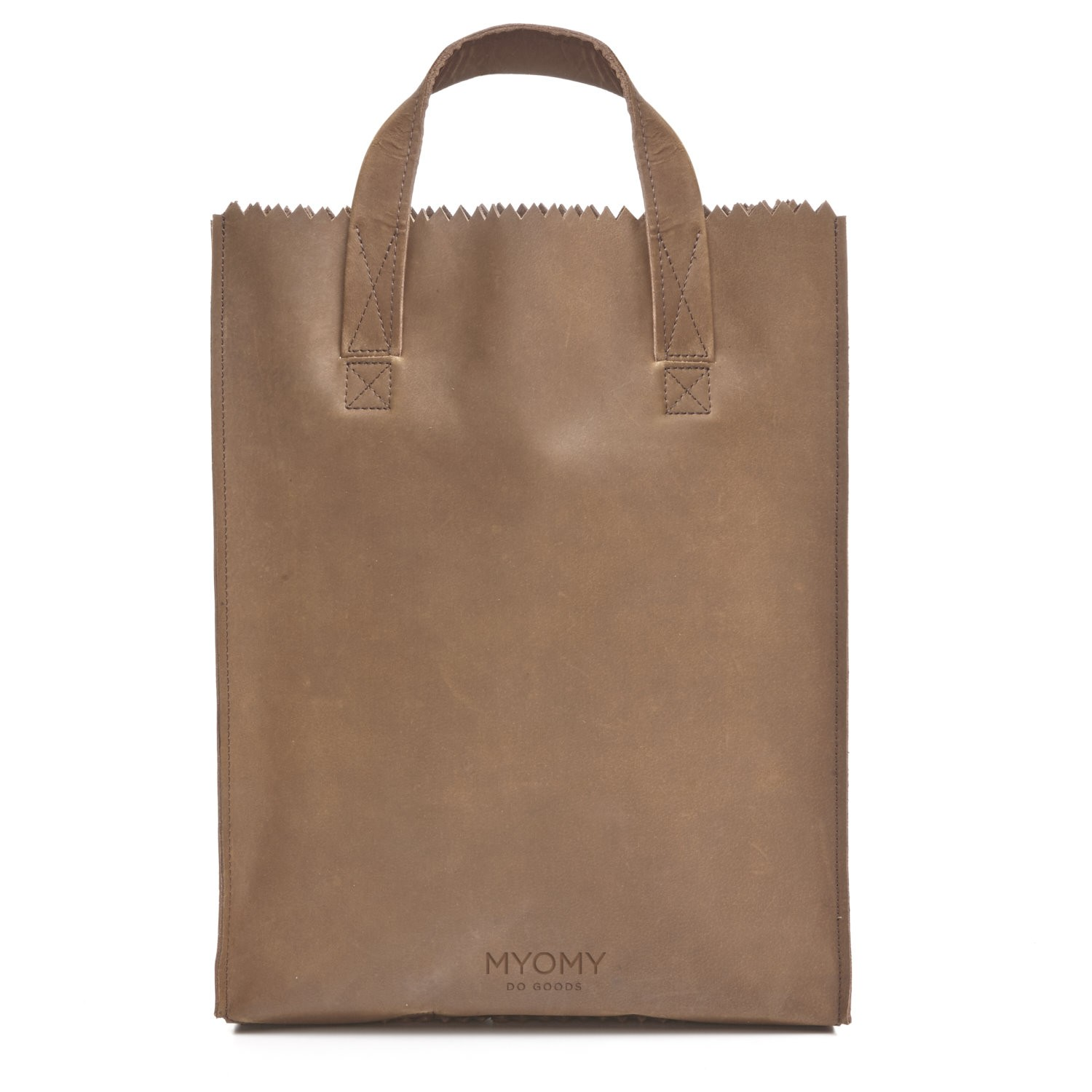 MY PAPER BAG Short handle – hunter original