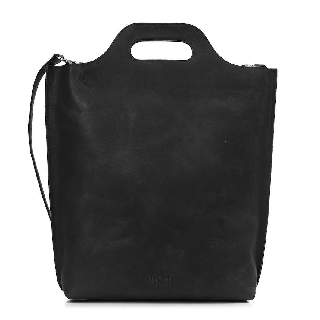 MY CARRY BAG Shopper – hunter off-black