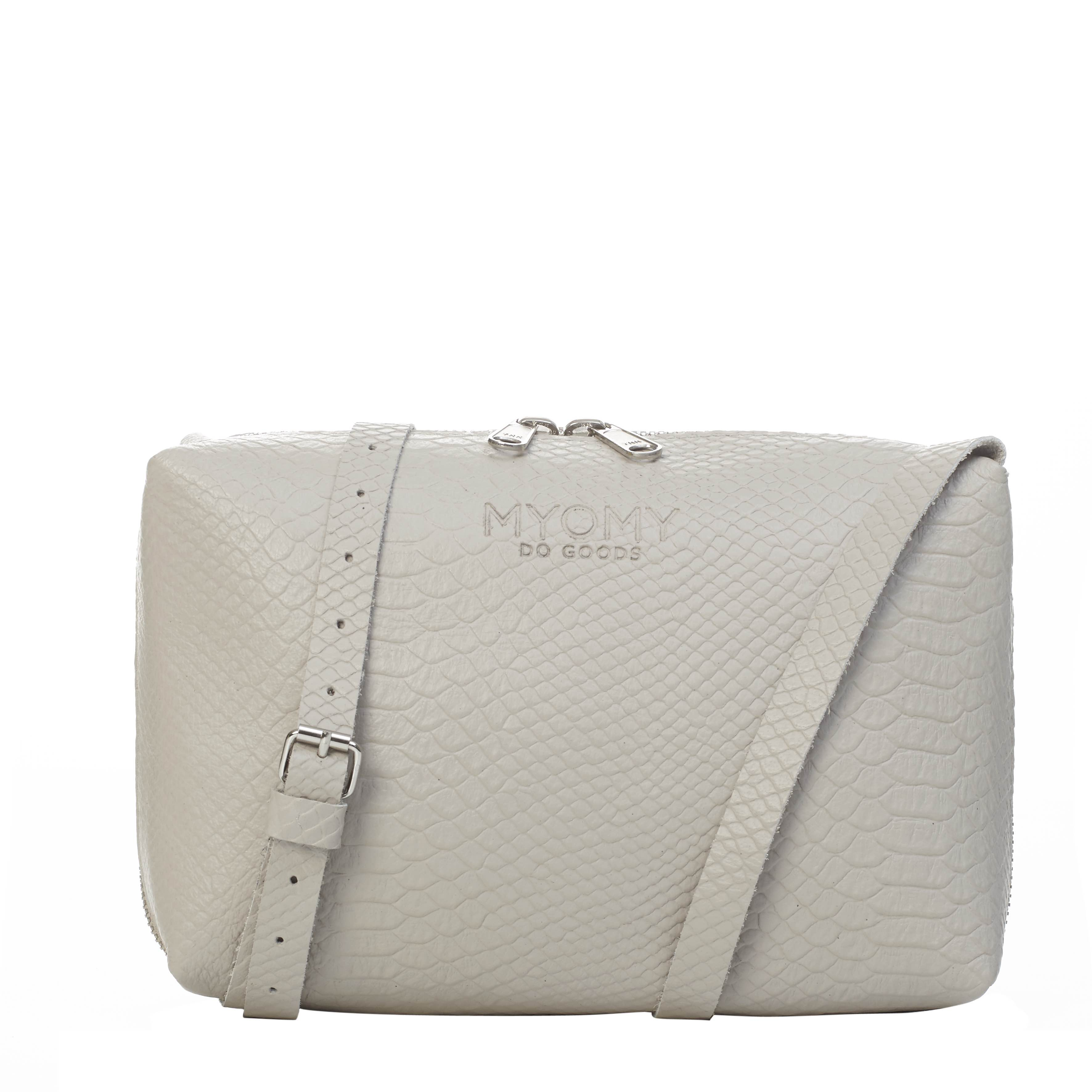 MY BLACK BAG Handbag – anaconda grey