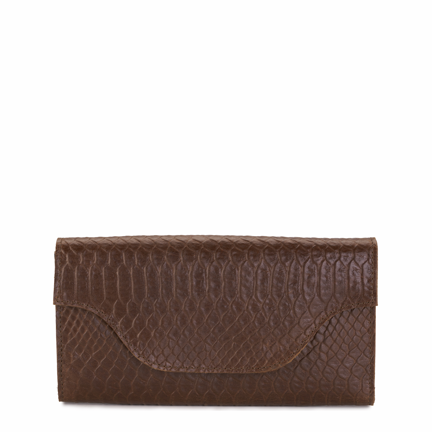 MY CARRY BAG Wallet Large - anaconda brandy