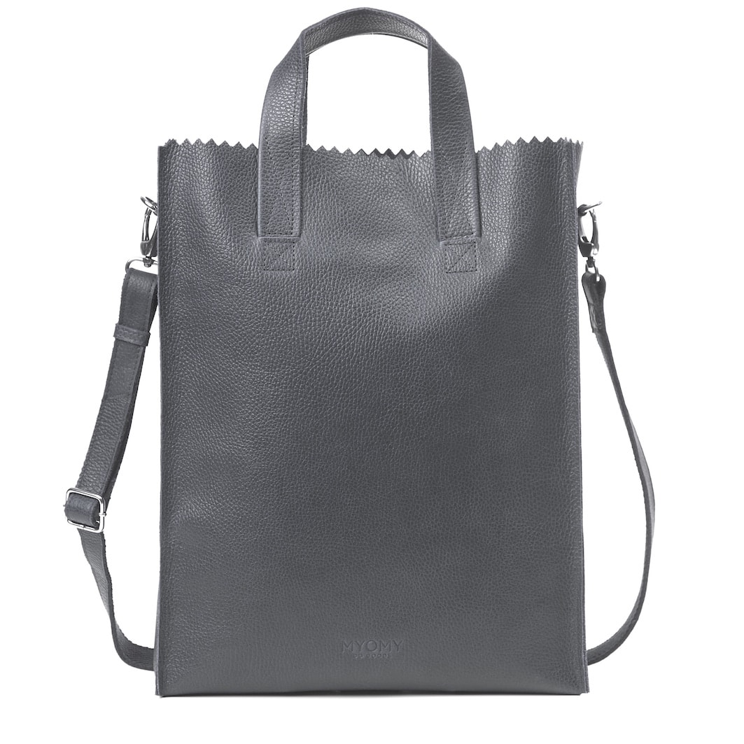 MY PAPER BAG Short h cross-body – rambler storm grey