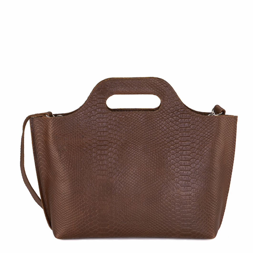 MY CARRY BAG Handbag – anaconda brandy
