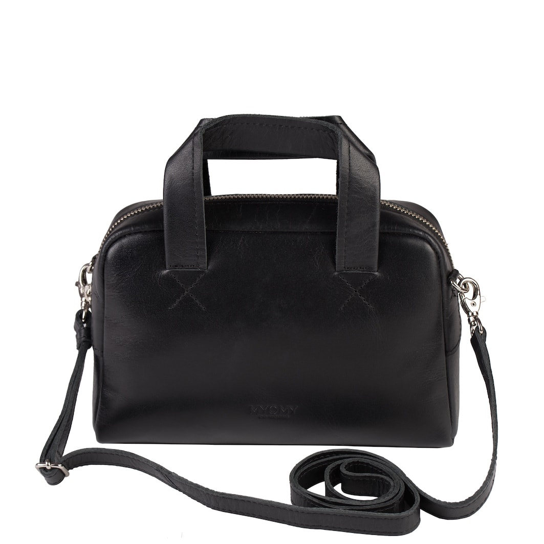 MY GYM BAG Mini – hunter waxy black