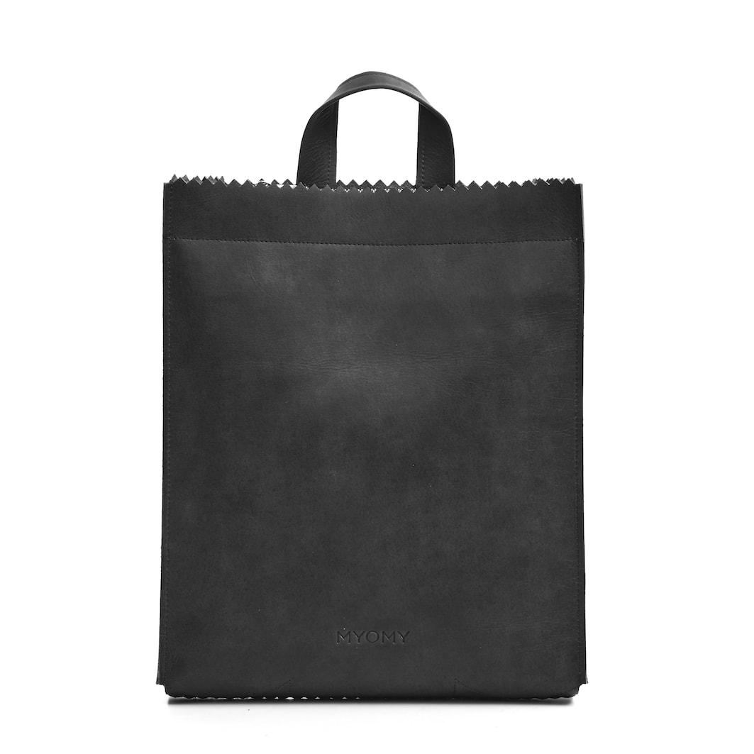 MY PAPER BAG Back bag - hunter off-black