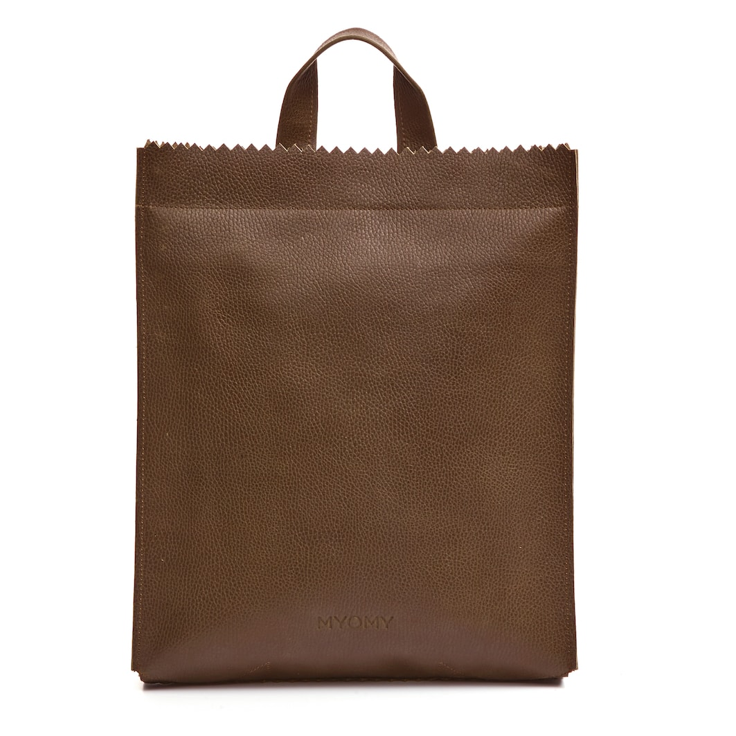 MY PAPER BAG Back bag – rambler brandy