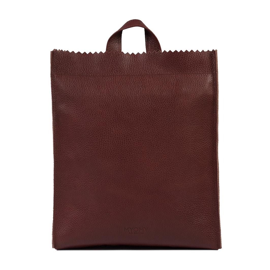 MY PAPER BAG Back bag – rambler bordeaux
