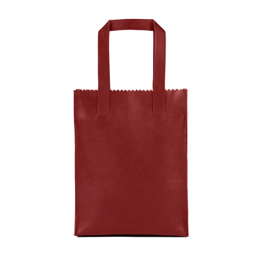 MY PAPER BAG Long handle zip – rambler red