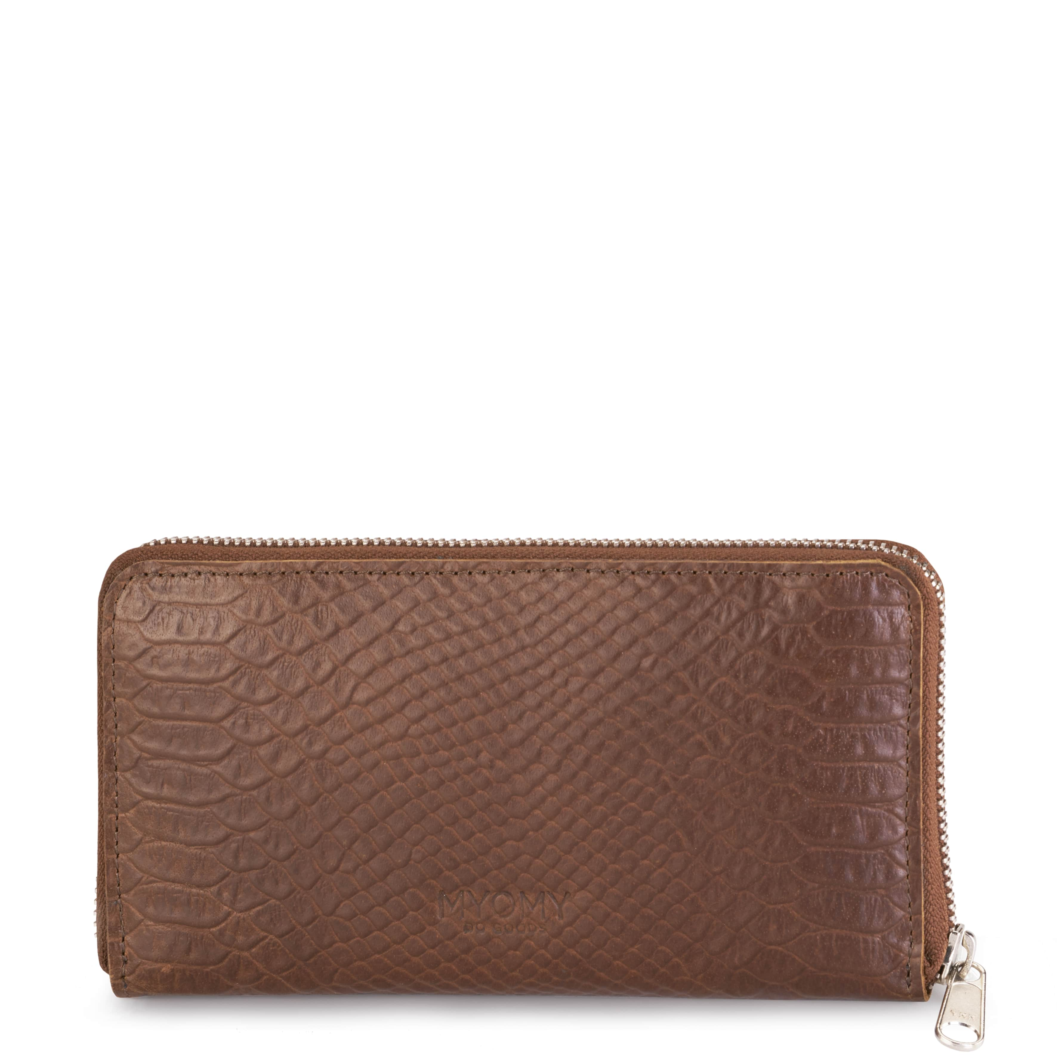 MY PAPER BAG Wallet Large (RFID) - anaconda brandy