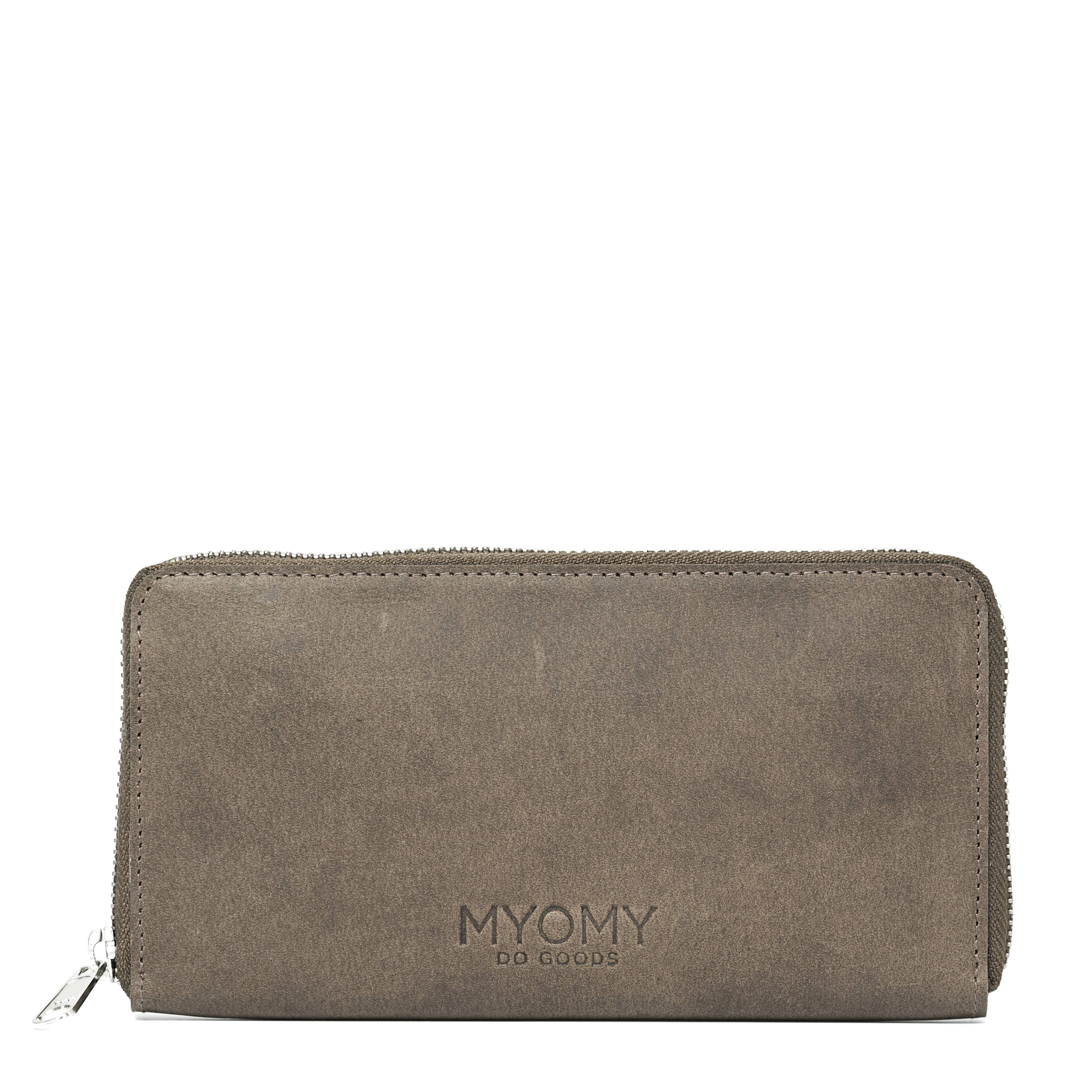MY PAPER BAG Wallet – hunter taupe