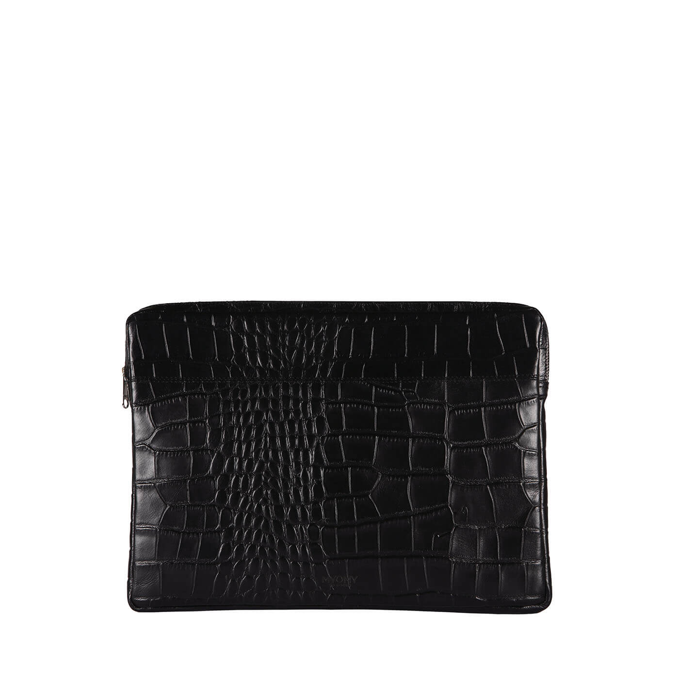 MY PHILIP BAG Laptop Sleeve 15 inch - croco black