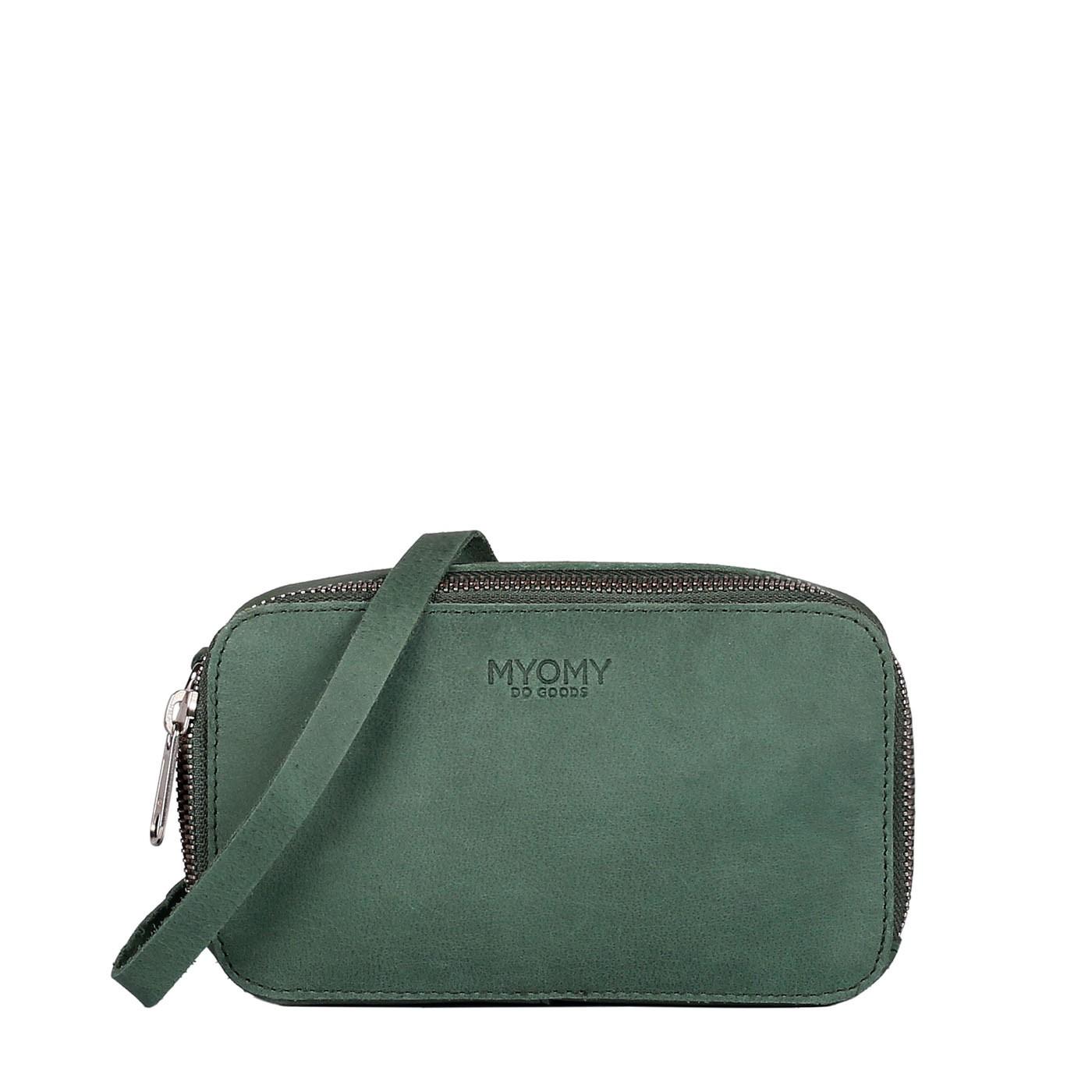 MY BLACK BAG Boxy - hunter forest green