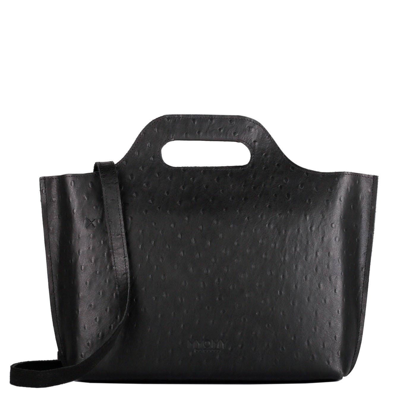 MY CARRY BAG Handbag – ostrich black