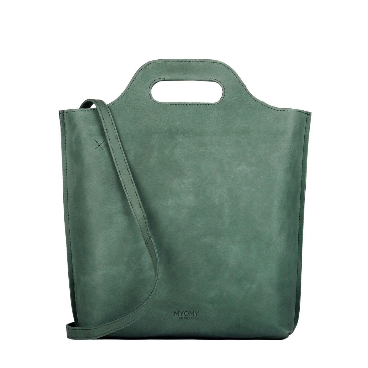 MY CARRY BAG shopper medium- hunter forest green
